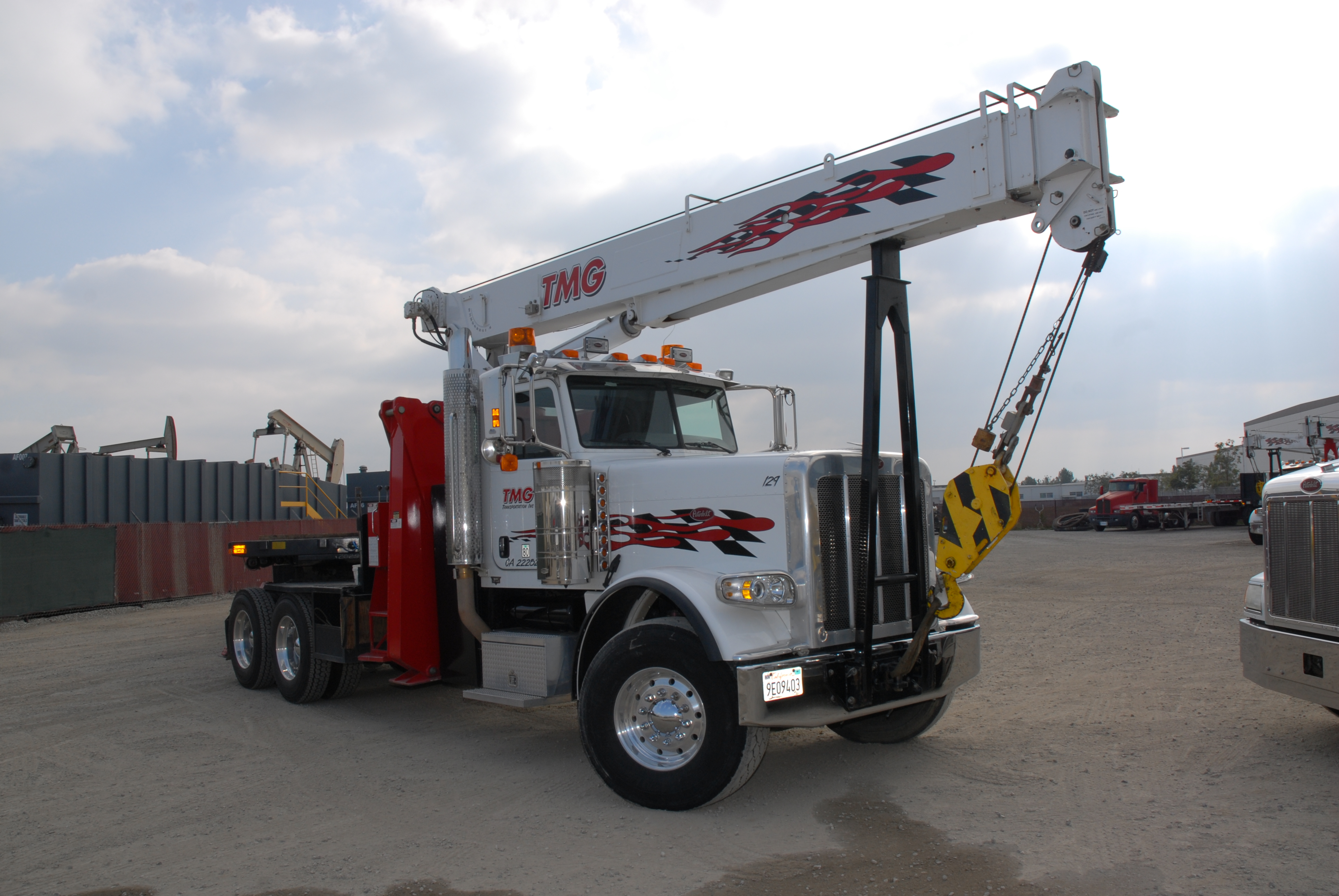 Stinger Crane Service For Los Angeles San Diego And Ventura