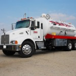 Vacuum truck clean up services in Los Angeles.